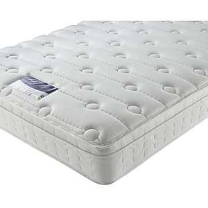 **sold out**Silentnight Miracoil memory cushion top 10inch thick mattress deal - £119 @ Silentnight