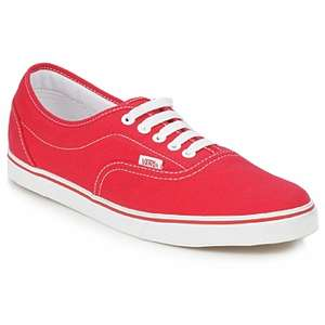 Vans LPE low top in Red £22.80 delivered @ Rubbersole (Using code)