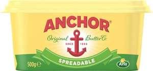 Anchor Spreadable + Anchor Lighter Spreadable (500g) was £2.90 now £2.00 (Rollback Deal)  @ Asda