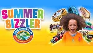 Lightwater Valley summer sizzler £15 tickets