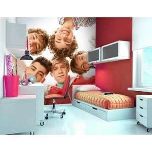 One Direction Wall Mural £1 / £7.95 delivered @ Ilovewallpapers