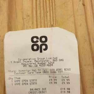 Vype e-cig starter kit RRP £19.99 scanning at £9.99 instore at Co-Op