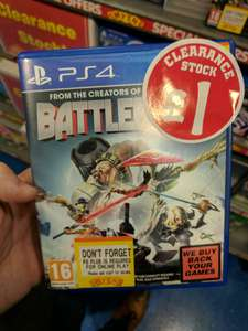 Battleborn now ONLY £1 at Smyths instore - Newry, Northern Ireland