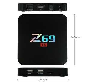 Z69 S905X 3GB/32GB 4K UHD Smart TV BOX KODI Android 6.0 802.11b/g/n LAN Bluetooth £31.15 with code @ geekbuying