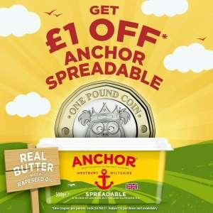 Get £1 off Anchor Spreadable via Printable Coupon!