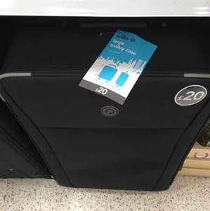 large suitcase @ wilkos £20 very lightweight