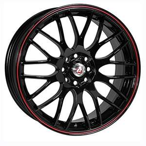4x100 / 4x108 fitment alloy wheels. £110.12 @ Amazon