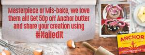 Coupon for 50p off Anchor Butter
