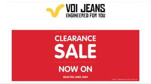 VOI Jeans Clearance Sale