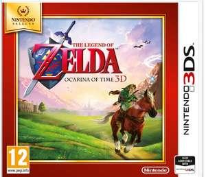 The Legend of Zelda: Ocarina of Time Nintendo 3DS Game - £13.99 @ Argos