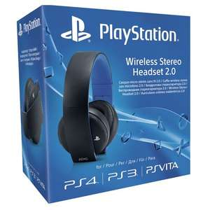 Sony PlayStation Wireless Stereo Headset 2.0 £50 @ Smyths toys down from £64.99
