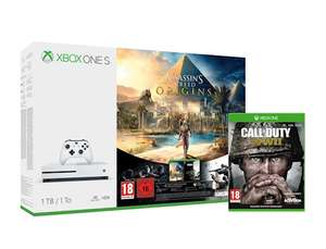 Xbox One S Console 1TB AC Origins & RB6 & COD WWII (Xbox One) - £228.99 @ Grainger Games