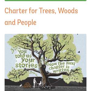 Woodland trust tree charter - have a tree planted in your name for free
