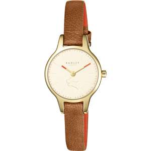 Radley Ladies Wimbledon Tan Leather Strap Watch RY2410 just £39 with Gift Box & Free Next Day Delivery w/code @ Watches2U (still £58 - £99 elsewhere)