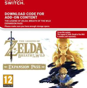 Zelda Expansion Pass for Switch - £16.19 @ CDkeys