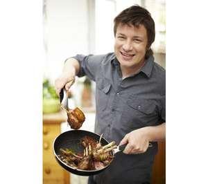 TEFAL Jamie Oliver Hard Enamel 30 cm Non-Stick Frying Pan £11.97 @ Currys (Free C&C)
