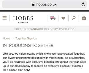 Free Hobbs Scented Candle