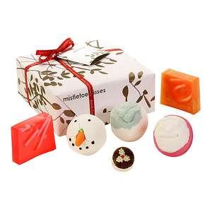 Bomb Cosmetics Mistletoe Kisses Gift Set £7.99 @ Totally Funky