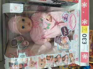 Baby Annabell doll @ Tesco in-store sale was £50 now £30