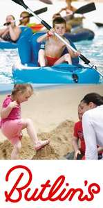 Febuary Half Term in Butlins 4 nights for 4 people over 50% off