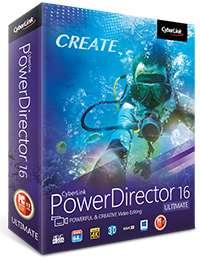 PowerDirector 16 Ultimate £52.99 @ Cyberlink