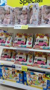 Nationwide at tesco  Baby Annabell moves from £40 to £13 num num truck £7.50 , Thomas £12 plus other toys at tesco