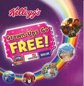 2 for 1 tickets to various attractions (Legoland, London Eye, Madam Tussands) when you buy Kellog's - two tickets per box!