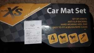 Set of 4 anti slip car mats with heel protection  £3.99 Aldi instore
