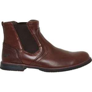 CAT  Brown Leather Armitage Chelsea Boots £39.99 @ TKMaxx