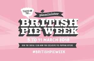 British Pie Week 5-11 March - Some of the good pub/ supermarkets pie deals around