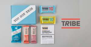 Chocolate Caramel Bars (Worth £8.95 for £2!) £2 is postage - Use code TRIBEJOURNEY2 @ Tribe