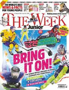Freebie - 6 copies of The Week Junior -  a new current affairs magazine for children aged between 8 and 14 @ iSubscribe