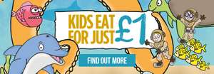 Kids can eat for £1 @ Stonehouse Restaurants