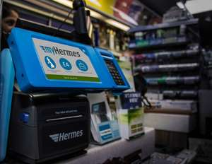 myHermes Pay and print in store now £2.79 for up to 5kg down from £4.00!