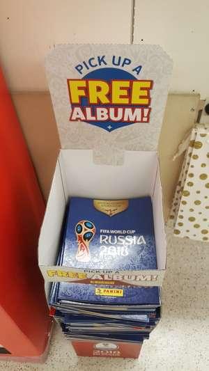 Free Fifa World Cup Russia 2018 Panini Sticker Album instore @ Sainsbury's Stanmore