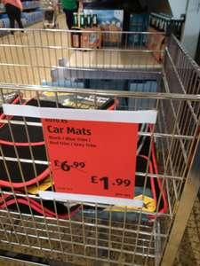 Aldi car mats - £1.99 instore @ Aldi (Caerphilly)
