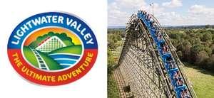 Lightwater Valley kids tickets £10 via Wuntu