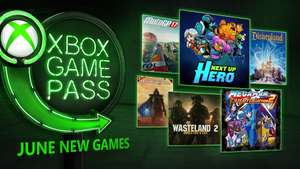 Xbox Game Pass - New Games For June 2018 - MotoGP 17/Mega Man Legacy Collection 2/The Technomancer/Wasteland 2:Director's Cut/Disneyland Adventures/Next Up Hero