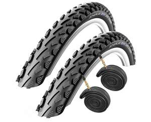 Schwalbe Land Cruiser 700 x 35c Hybrid Bike Tyres with Presta Tubes (Pair) £12 @ Amazon / Dispatched from and sold by Baldwins Cycles.
