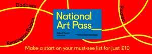 National Art Pass £10 for three months @ ArtFund