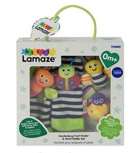 Lamaze Garden Bug Foot Finder And Wrist Rattle £7 @ Tesco - Free c&c