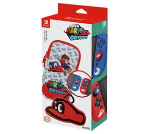 Super Mario Odyssey Nintendo Switch Accessories set £15.99 @ Argos (free C&C)