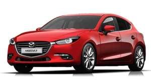 Mazda 3 Hatchback 2.0 Sport Nav Car - 24 months - 8000 miles per annum - £150.21 a  month - and £1807 upfront @ Nationwide vehicle contracts