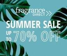 Fragrance Direct Summer Sale up to 70% off starts 9am 14th July brand like piz buin, tigi