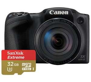 Canon Powershot SX430 20MP 45x Zoom Bridge Camera £149.99 @ Argos