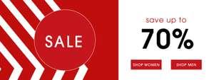 Massive Ecco footwear sale