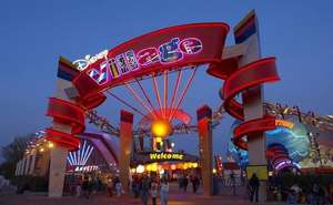 2-Course Meal and Drink at Planet Hollywood * Disneyland Paris Resort *- £22 for Adults and £11 for Children @ Attractiontix