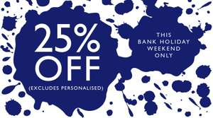 25% Off Emma Bridgewater (Excludes Personalised Items) Discount Applied At Checkout