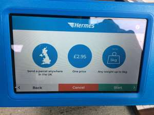 Hermes parcel drop off 5kg and up to 1.2m includes printing! - £2.95 Now with more postage options!