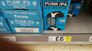 8 x 330ml Brewdog Punk IPA, Dead Pony or Elvis Juice - £9 @ Tesco